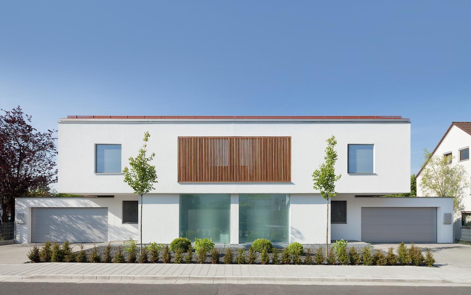 Doppelhaus l for Bilder doppelhaus