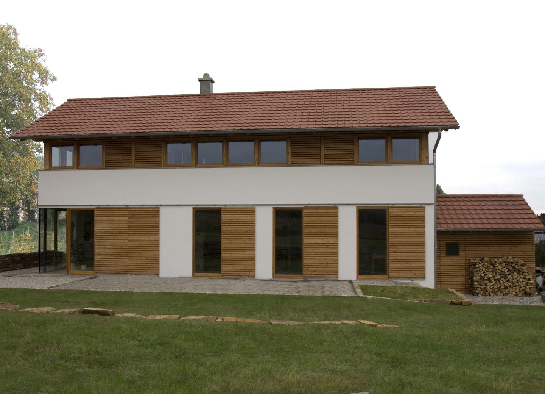 Modernes Bauernhaus In Landlicher Umgebung Niederbayern