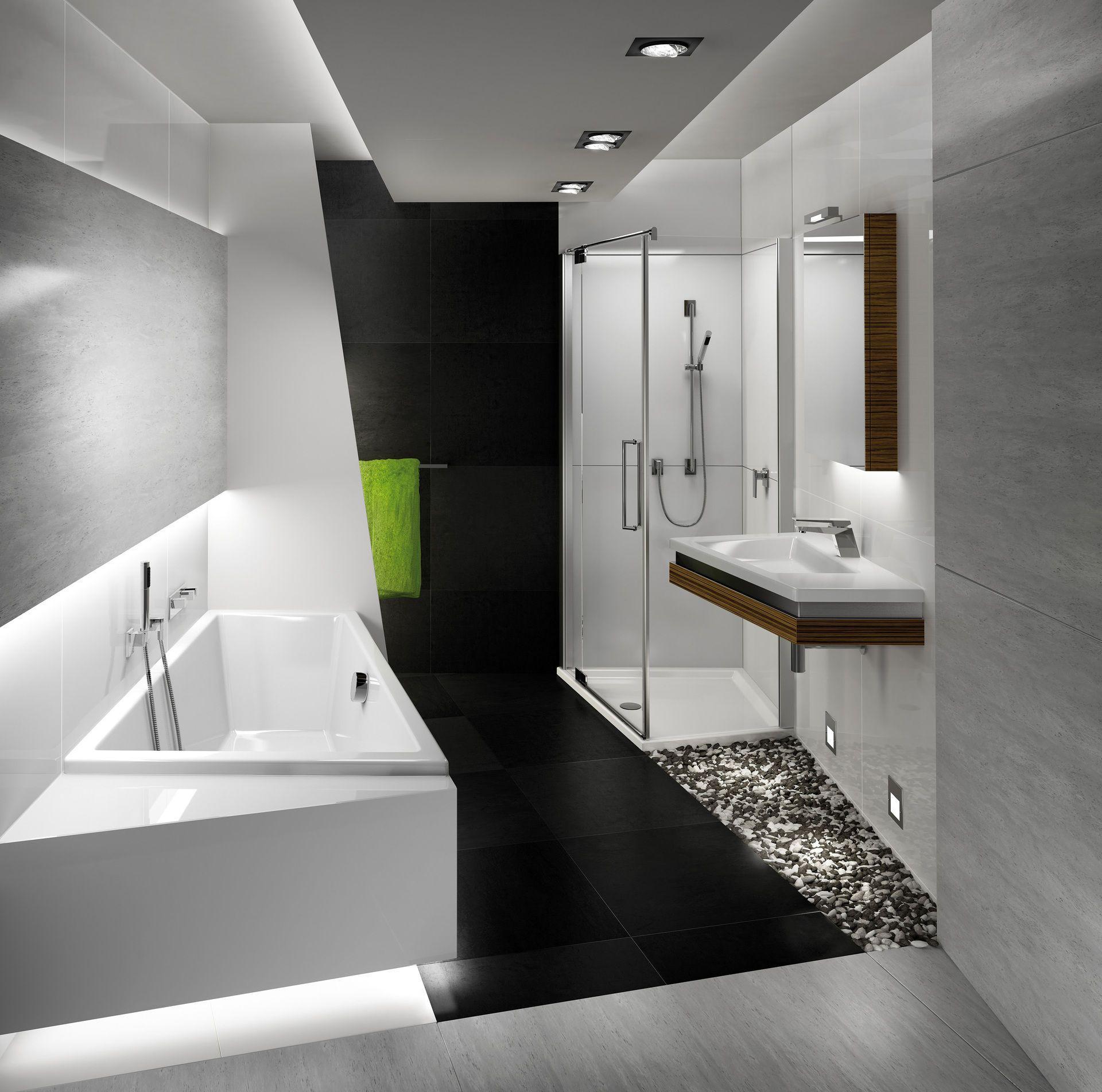 Luft und Licht im fensterlosen Badezimmer - bauemotion.de