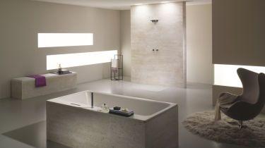 luft und licht im fensterlosen badezimmer. Black Bedroom Furniture Sets. Home Design Ideas