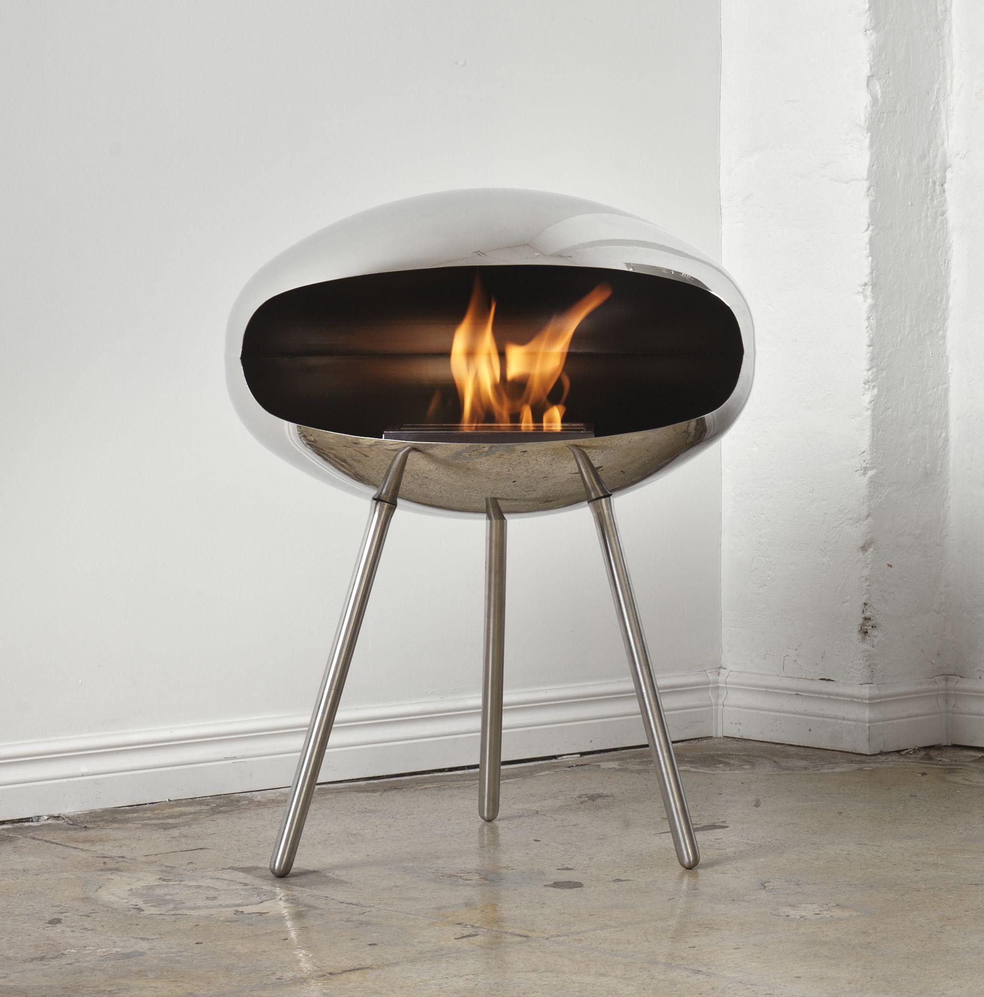 bioethanol standkamin cocoon terra. Black Bedroom Furniture Sets. Home Design Ideas