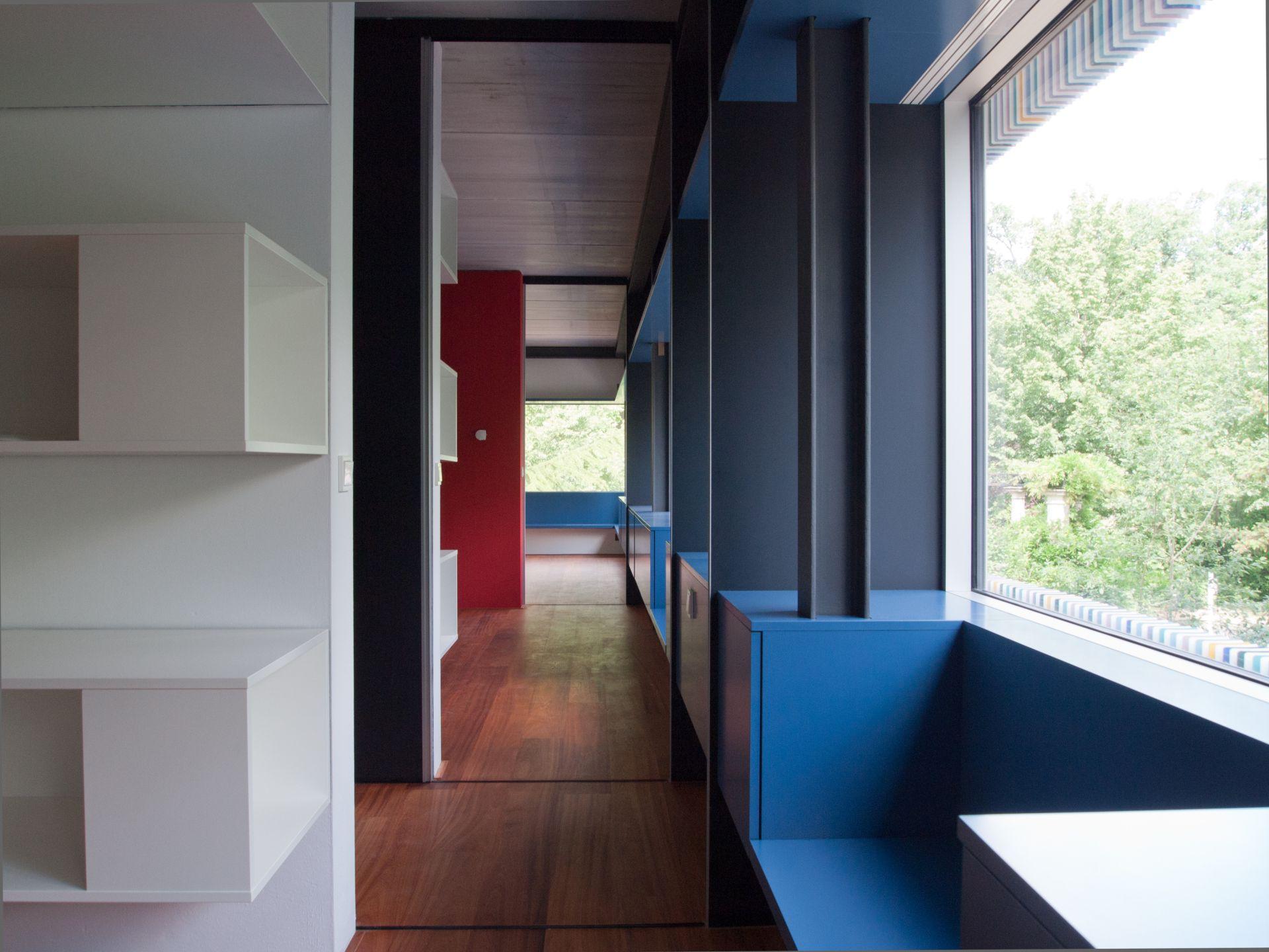 farbe im flur. Black Bedroom Furniture Sets. Home Design Ideas