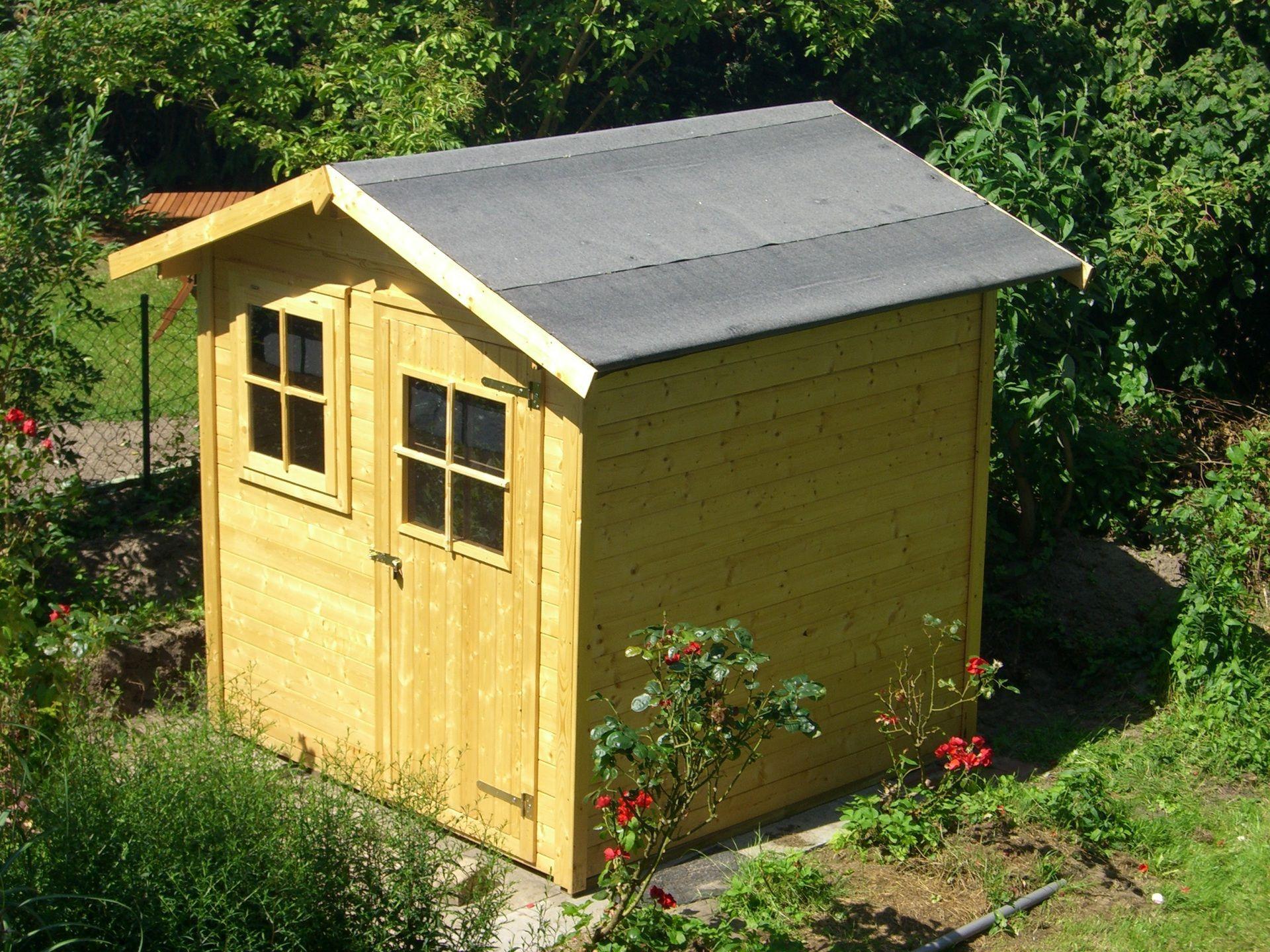Gartenhaus bauen So wird es schön und praktisch bauemotion