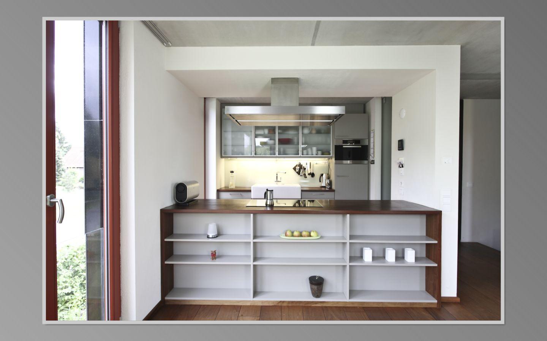 k che in offener raumkonstruktion. Black Bedroom Furniture Sets. Home Design Ideas