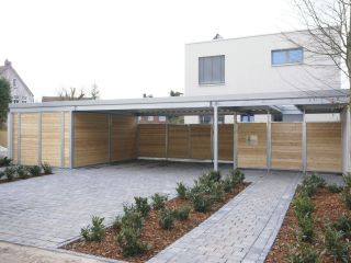 Gut gemocht Siebau Carport, Dach transparent - bauemotion.de HY67
