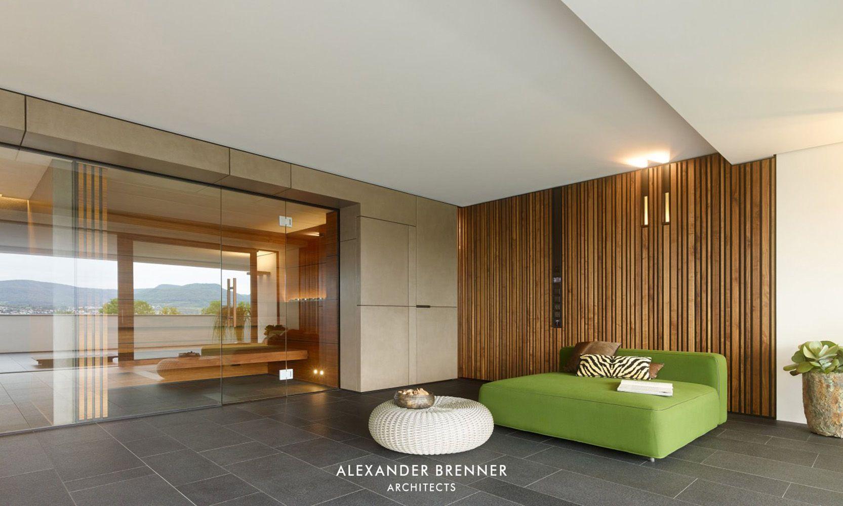 Wohnzimmer Mit Wandverkleidung Aus Holz Bauemotion De
