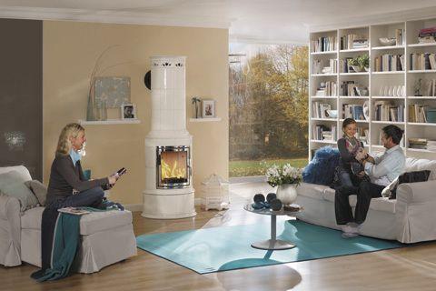 romantische kamine f r gem tliche stunden. Black Bedroom Furniture Sets. Home Design Ideas