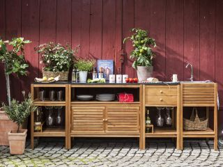 Outdoor Küche Reihenhaus : Draußen kochen outdoor küchen ideen finden bauemotion