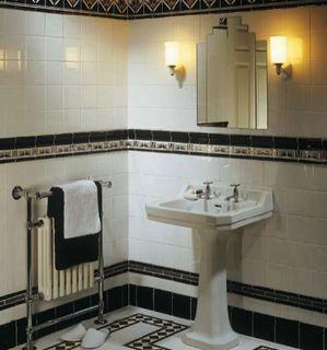 Retro-Design der 20er: Art déco im Badezimmer - bauemotion.de