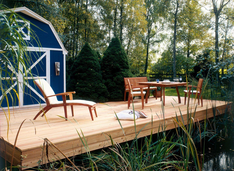 holzterrasse winterfest machen. Black Bedroom Furniture Sets. Home Design Ideas