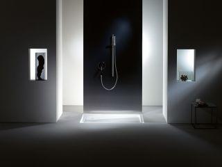 Moderne dusche ohne glas  Bodengleiche Dusche: Pfiffige Lösungen für den Altbau - bauemotion.de
