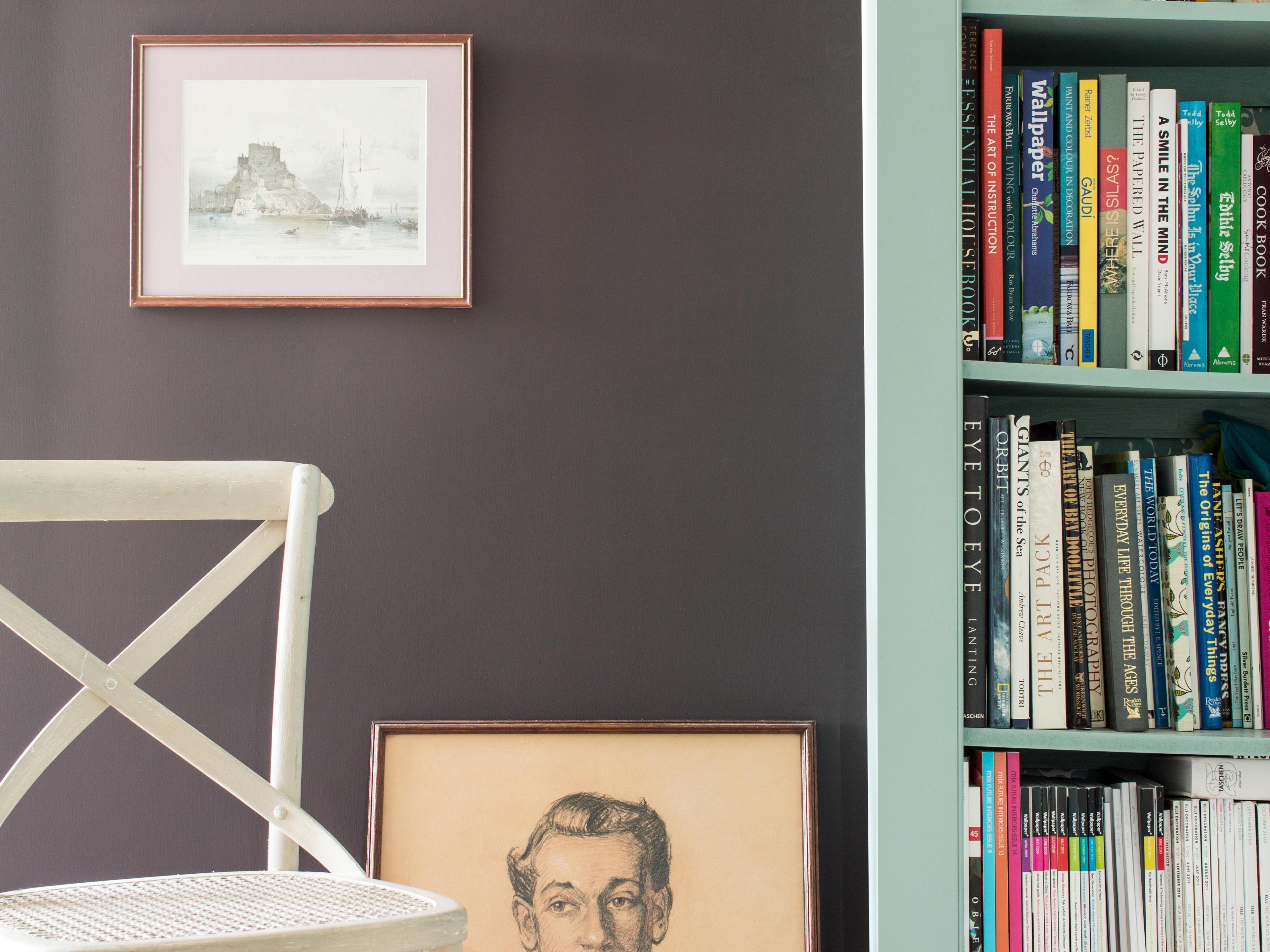 Wunderbar Kinderzimmer Farbgestaltung Dekoration Von Wohntrend: Dunkle Wandfarben Schlafzimmer Mit Farbe Gegen