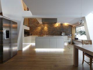 Bevorzugt Außergewöhnliche Küchen-Architektur - bauemotion.de WJ87