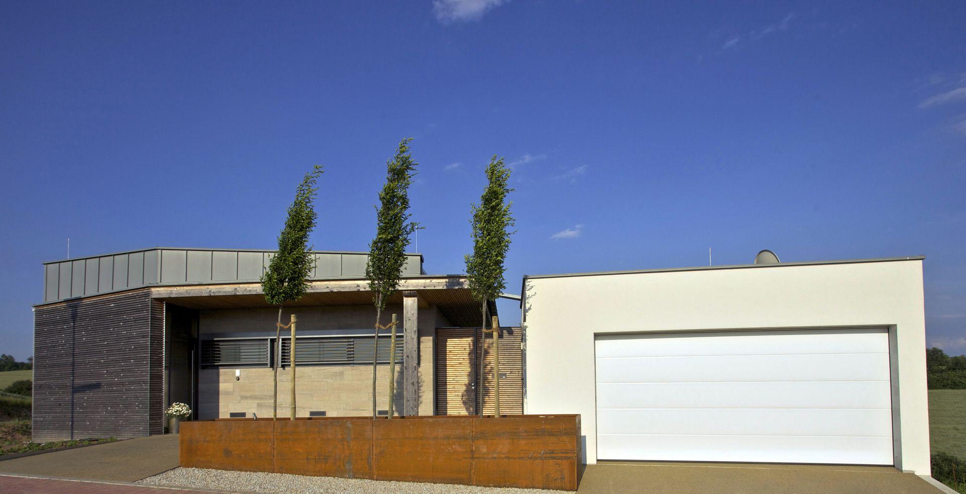 garage als grundstücksbegrenzung - bauemotion.de