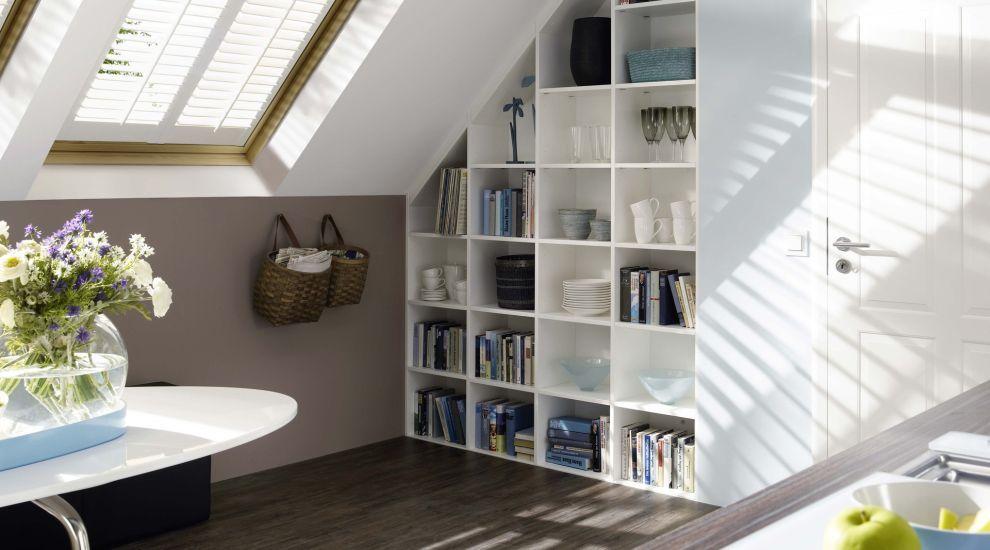 kleine r ume gro e wirkung dach und altbauwohnungen. Black Bedroom Furniture Sets. Home Design Ideas