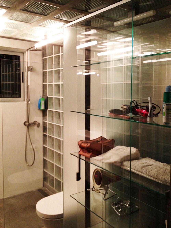 Badezimmer mit Glasbausteinen - bauemotion.de