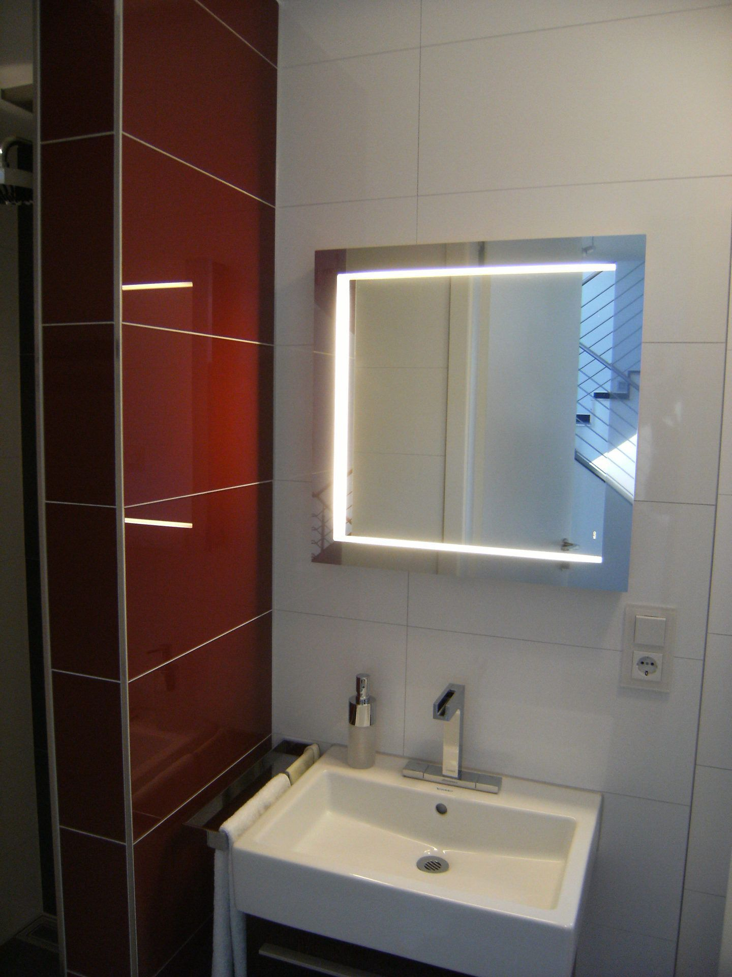 Spiegel Für Gäste Wc : wc beleuchtung per led spiegel ~ Watch28wear.com Haus und Dekorationen