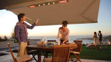 Schattenspender Sonnenschutz Auf Balkon Und Terrasse