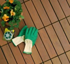 Holzfliesen auf dem balkon der richtige bodenbelag f r for Cooledeko de
