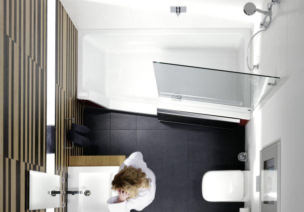 Badezimmer: Die Richtige Wanne Für Kleine Räume - Bauemotion.de Badezimmer Wanne