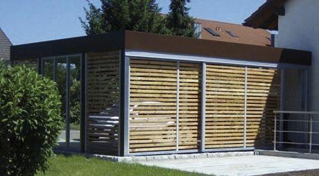 carport design von gewa. Black Bedroom Furniture Sets. Home Design Ideas