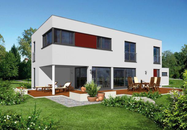 Flachdächer, Glas Und Stahl Brechen Mit Der Tradition Und Begründen Den  Neuen Bauhaus Stil