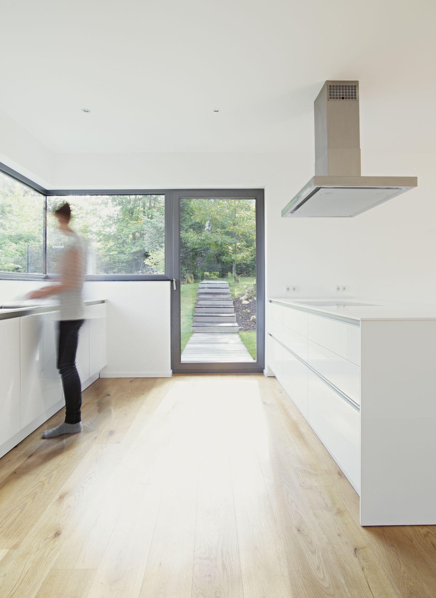 Fenster Band helle küche mit fensterband bauemotion de