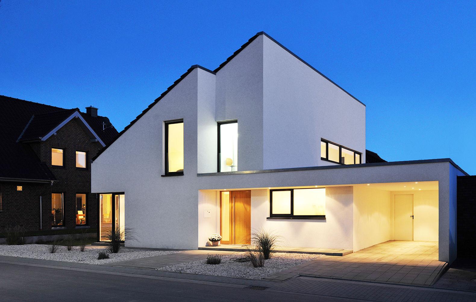 Eitelkeit Hauseingang überdacht Foto Von Licht Am