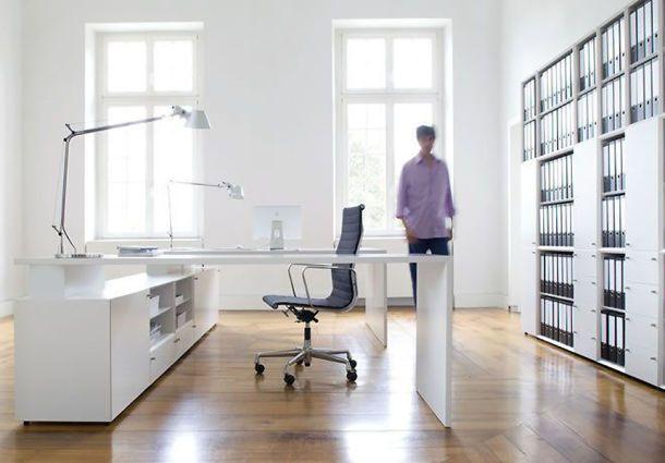 arbeitszimmer ergonomie f r das schreibtisch universum. Black Bedroom Furniture Sets. Home Design Ideas