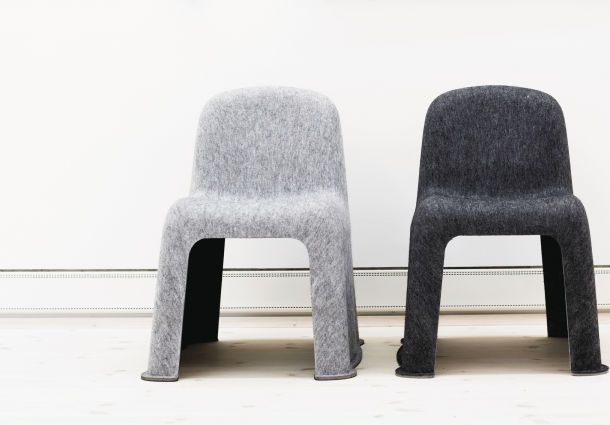 Scab Design Designer Stuhl mit gewebter Sitzfläche Tricot ...